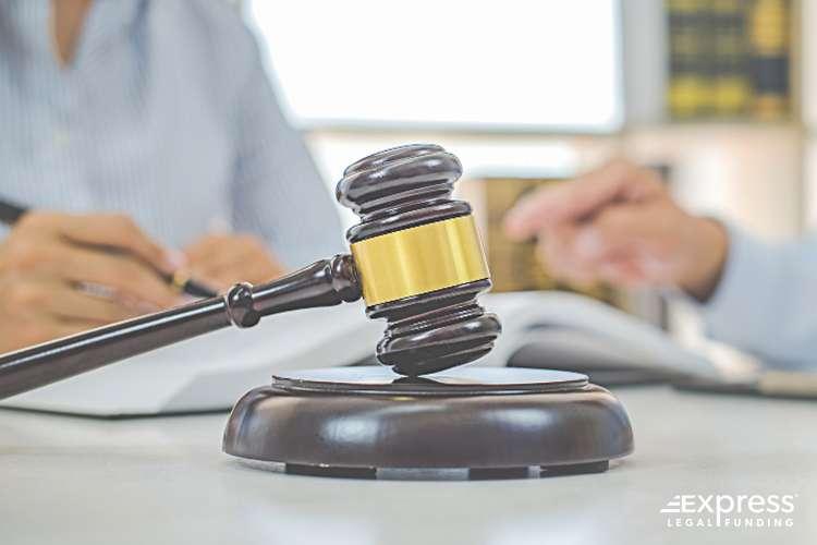 Jury and Court Gavel