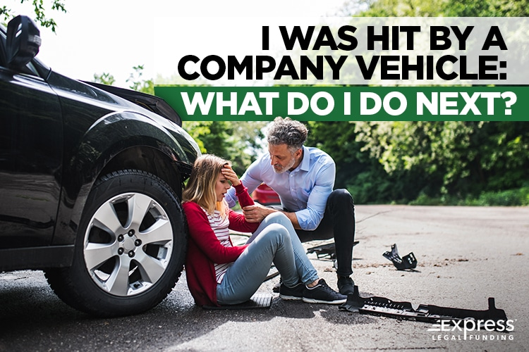Hit By a Company Vehicle